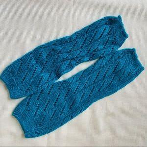 Free People Womens Leg Warmers Knee High Knit Spar